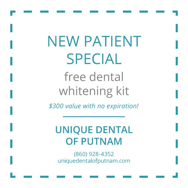 Unique Dental of Putnam - New Patient Special - Special Coupons